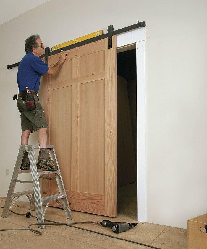 8 Cara Pasang Pintu Geser Sendiri Di Rumah Dilengkapi Tips Merawat