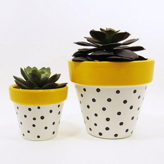 10 Kreasi Pot Kaktus Dari Semen Cocok Untuk Dekorasi Rumah