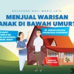 aturan menjual warisan untuk anak di bawah umur