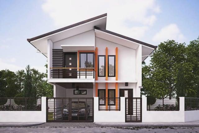 Desain Rumah 2 Lantai Sederhana Tipe 36