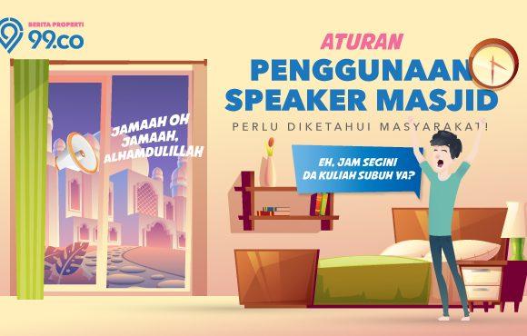 aturan penggunaan speaker masjid