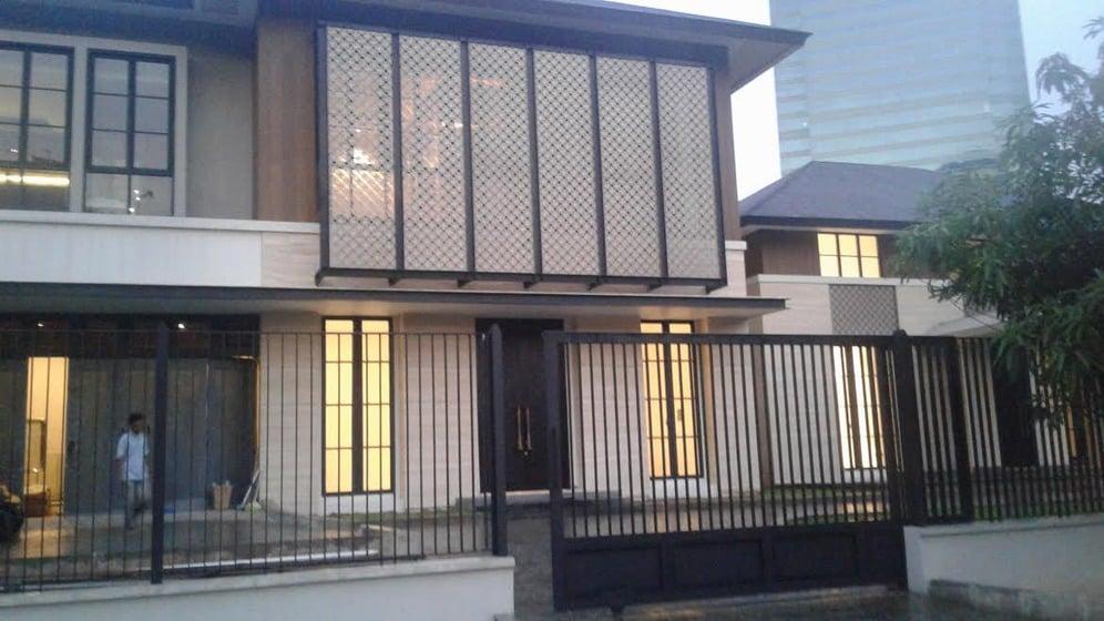 rumah mantan presiden SBY