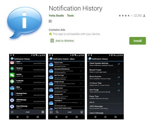 cara melihat chat WA yang sudah dihapus menggunakan notification history