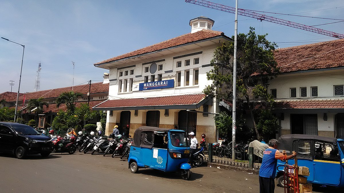 stasiun angker
