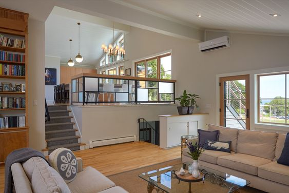 rumah split level minimalis sederhana
