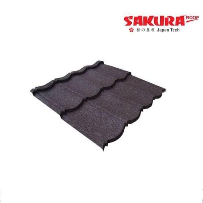 genteng metal pasir sakura roof