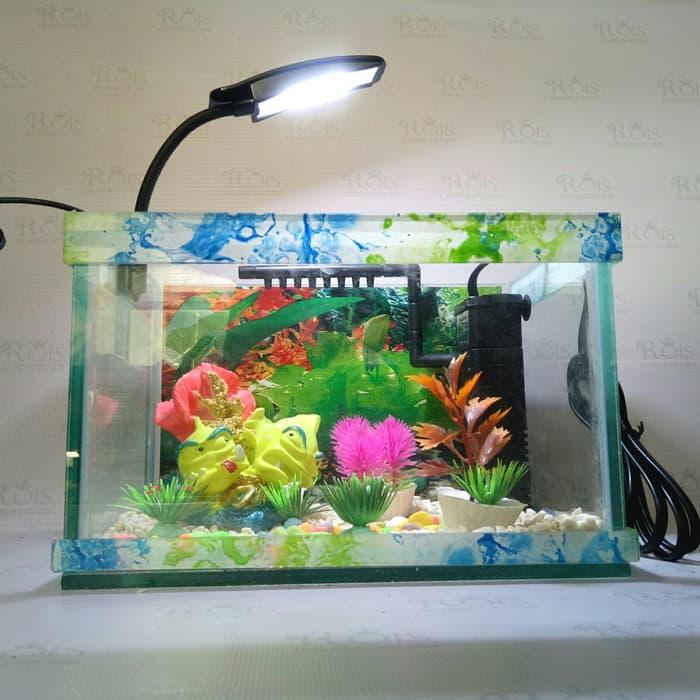 akuarium ikan hias ukuran s
