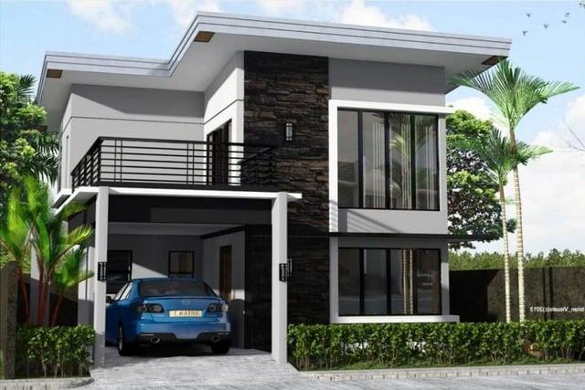 Desain Rumah 2 Lantai Sederhana Ukuran 6×9