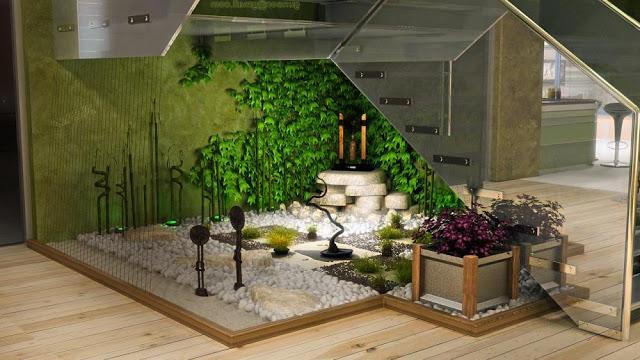 kebun di dalam rumah