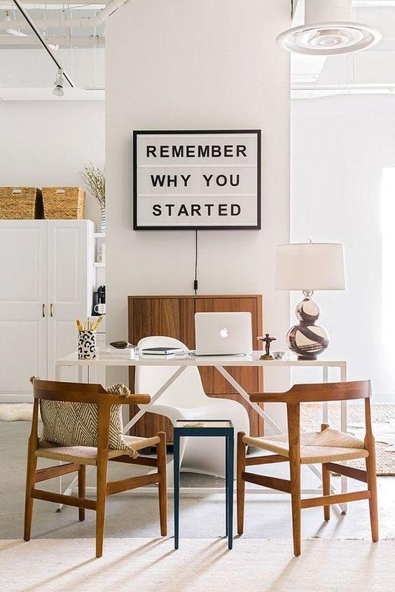 desain kantor di rumah