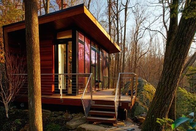 desain rumah kecil cottage
