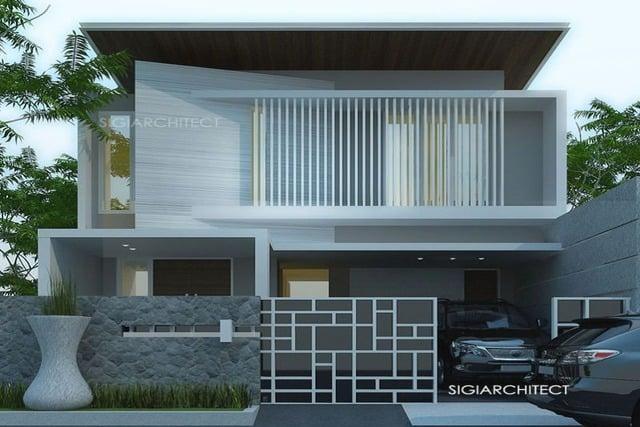 Desain Rumah 2 Lantai Sederhana 6×12