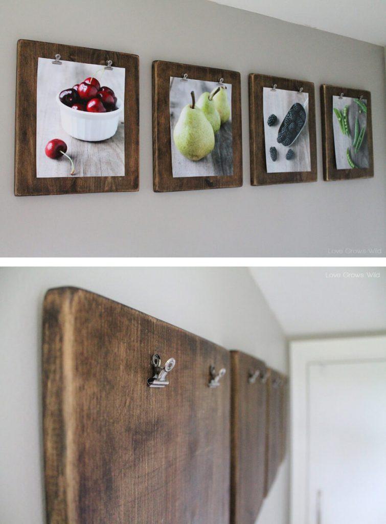 lukisan hiasan dinding dapur
