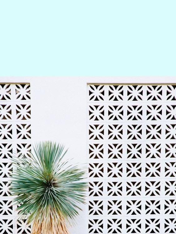 pagar motif bunga