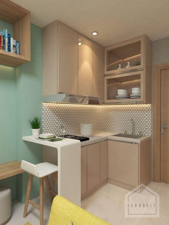 Ciptakan Kesan Damai Ini 7 Inspirasi Desain Kitchen Set Minimalis