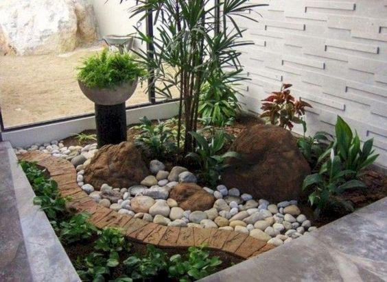 kebun minimalis di dalam rumah