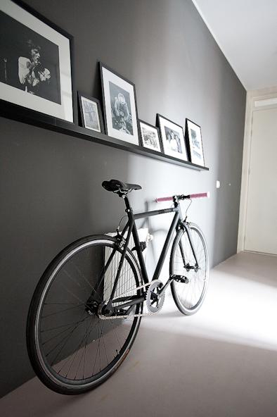 cara menyimpan sepeda