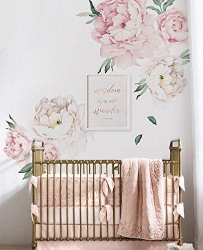 stiker dinding bunga