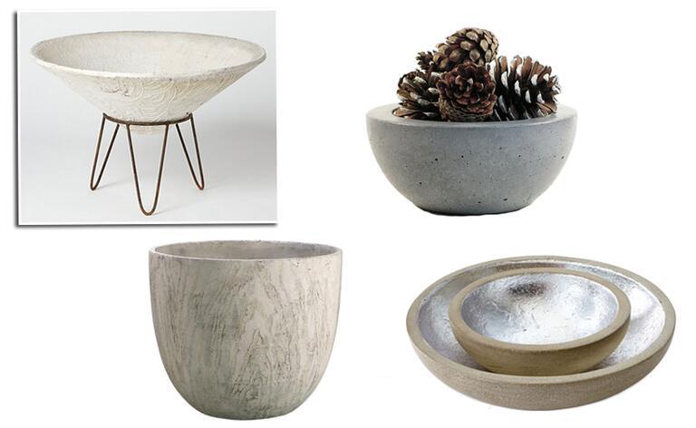 pot tanaman beton