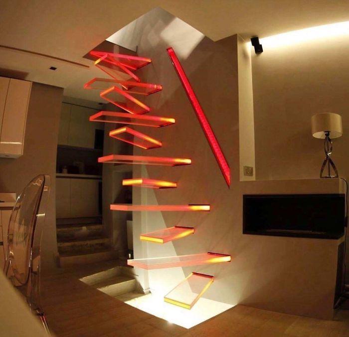 desain tangga terburuk
