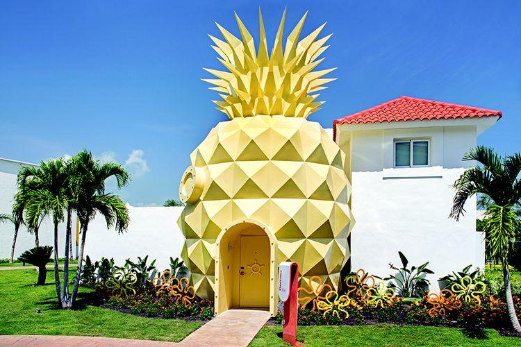 rumah spongebob