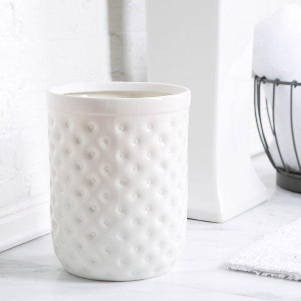 wadah sampah porselen