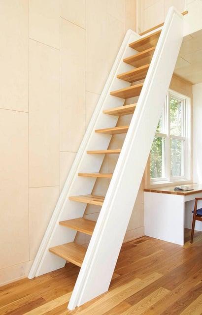 model tangga rumah minimalis ruang sempit