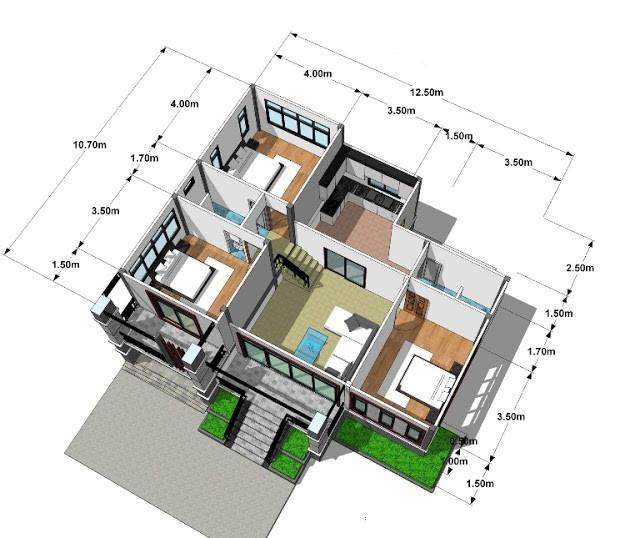 rumah 3 kamar