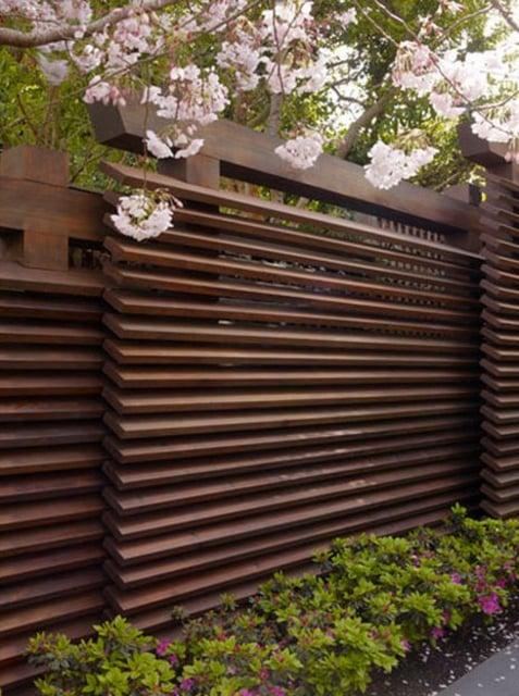 contoh pagar rumah oriental