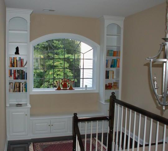ruang baca dekat jendela