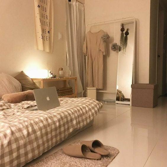 kamar kos minimalis cozy