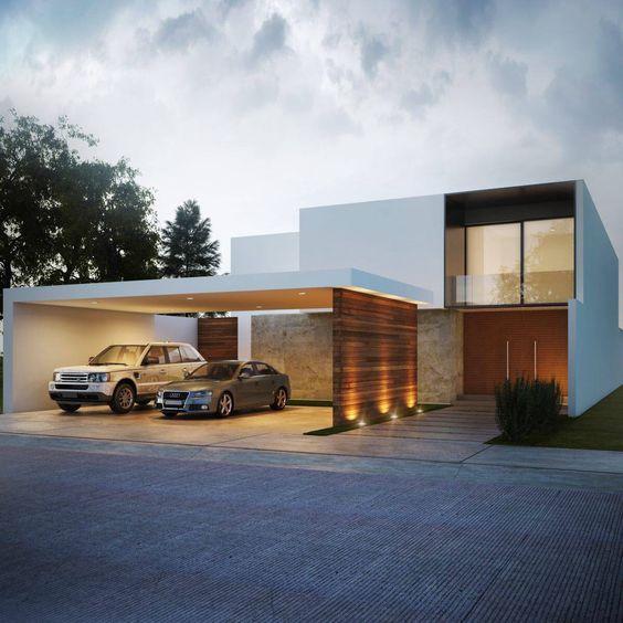 Rumah Aman Dan Cantik Intip 7 Desain Garasi Minimalis Ini