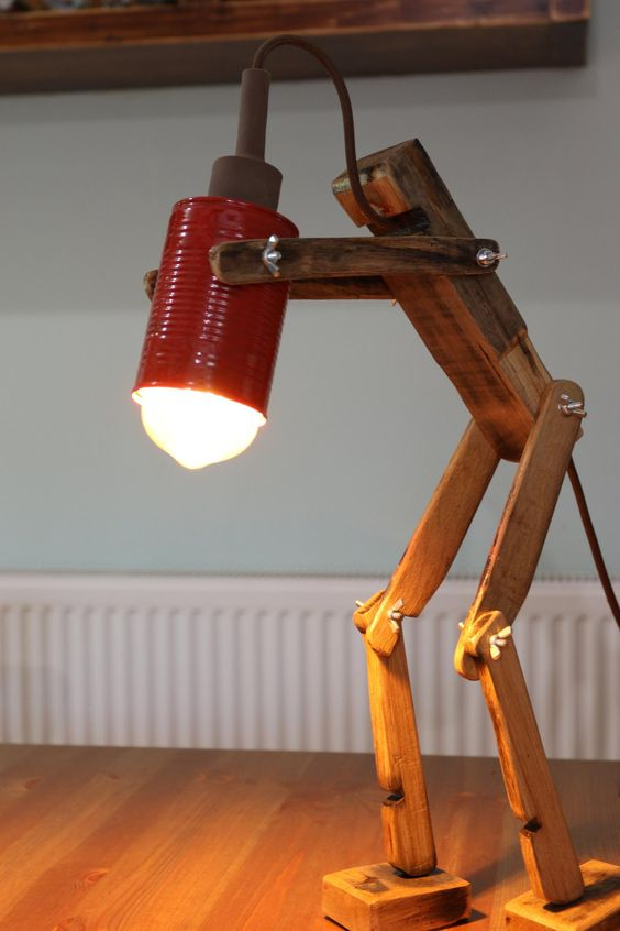 lampu meja lucu