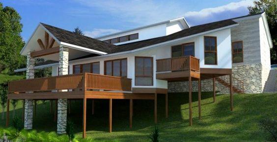 struktur penopang rumah