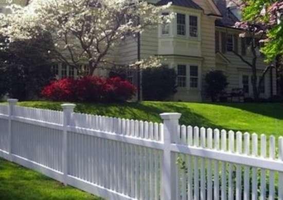 pagar klasik putih