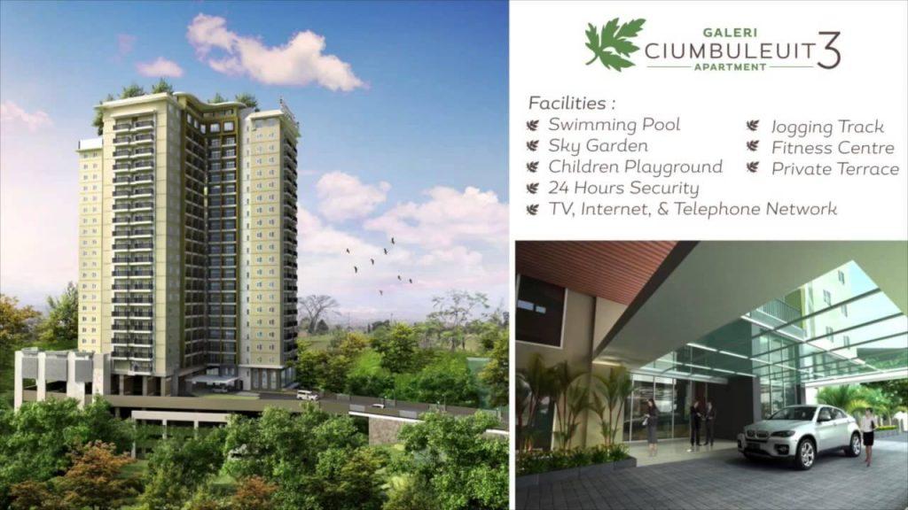 Apartemen Galeri Ciumbuleuit di Bandung
