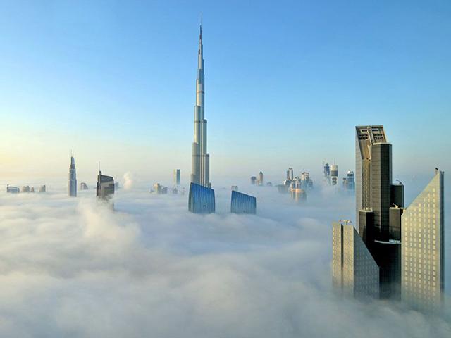 bangunan unik Burj Khalifa