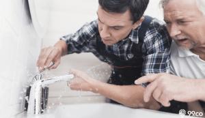 Cara Memperbaiki Kran Air yang Dol