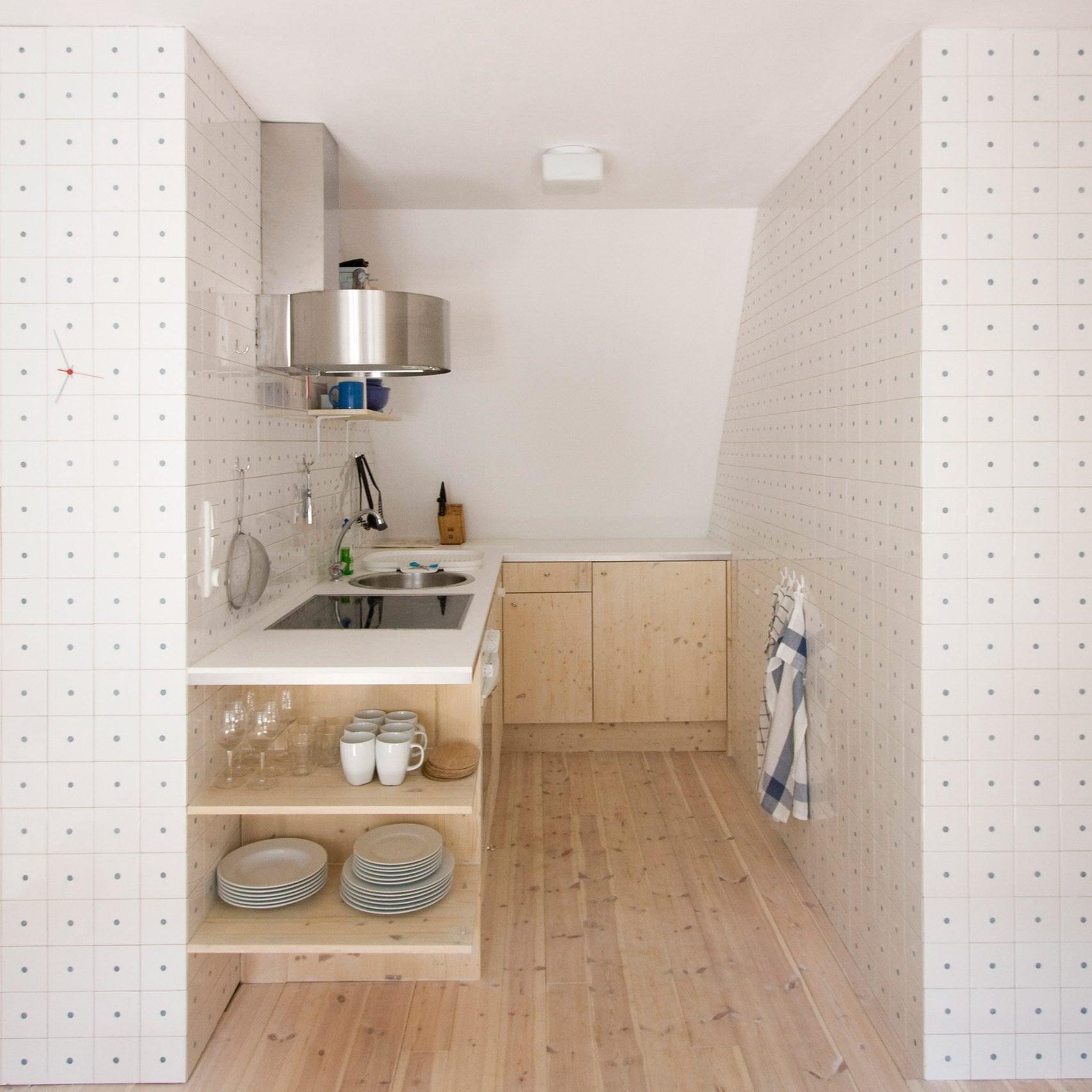 gambar dapur sempit di sela ruangan