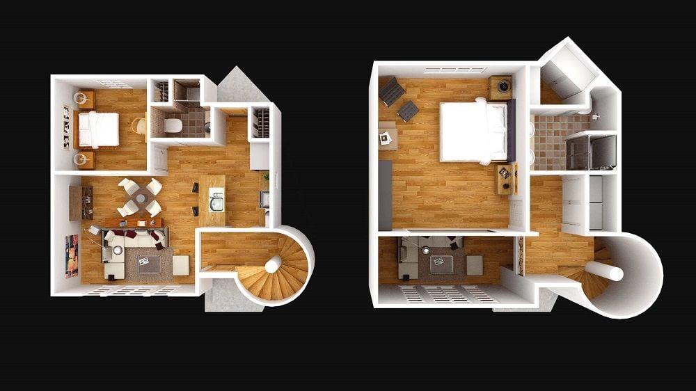 20 Gambar Denah Rumah Sederhana Yang Cocok Kamu Gunakan