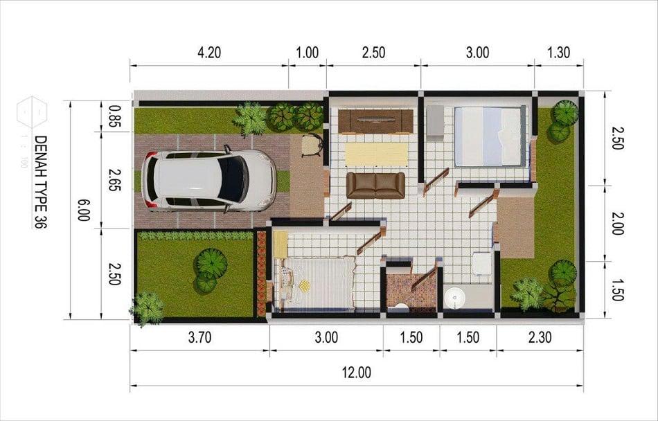 7 Sketsa Rumah 1 dan 2 Lantai Terbaik. Yuk, Pilih Desain ...