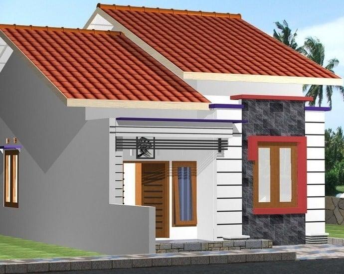 10 Inspirasi Desain Rumah Minimalis Atap Miring Ngetren Di Tahun 2020
