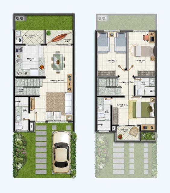 7 Inspirasi Desain Rumah 2 Lantai di Lahan Sempit. Minimalis!