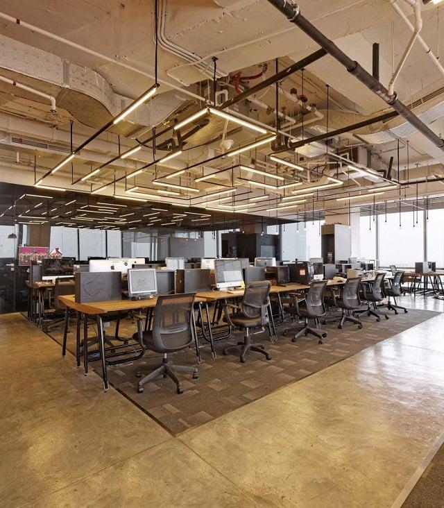pemilihan lantai untuk desain kantor