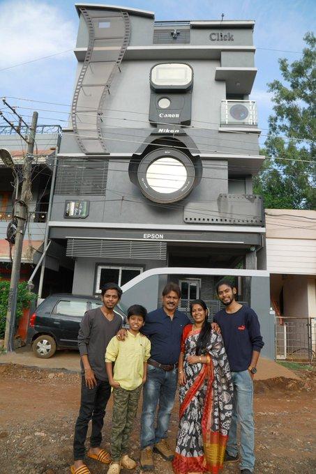 rumah di india unik