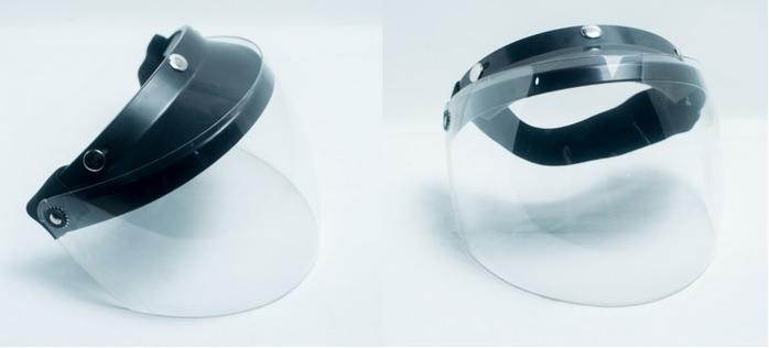 Face Shield dengan Kaca Tebal