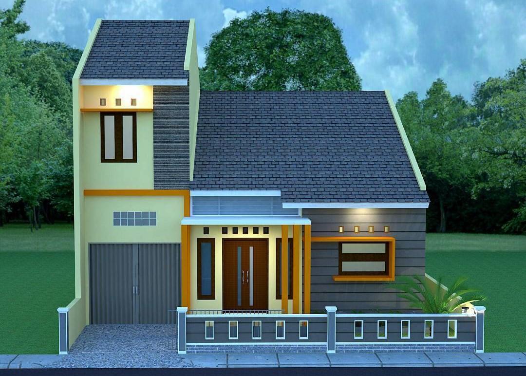 9 Desain Rumah Minimalis 2020 Dengan Garasi | Pas Buat Keluarga Baru!