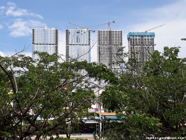 gedung pencakar langit habibie