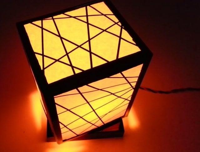 cara membuat lampu tidur