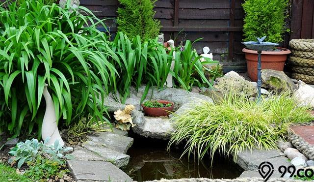 kolam dalam rumah